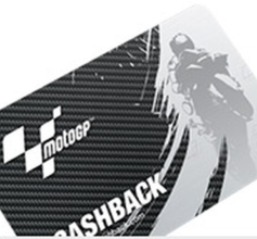 MOTO GP karta na cash back