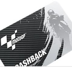 MOTO GP karta na cash back