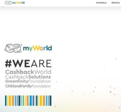 MyWorld cash back info
