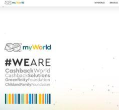 MyWorld cash back info